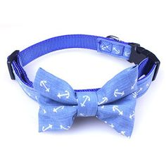 Dog Bow Tie Collar - Puppy Ties Cute Dog Collars - This Nylon Dog Collar is Perfect for Fancy Dogs. A Cool and Unique Dog Collar! - http://www.thepuppy.org/dog-bow-tie-collar-puppy-ties-cute-dog-collars-this-nylon-dog-collar-is-perfect-for-fancy-dogs-a-cool-and-unique-dog-collar/