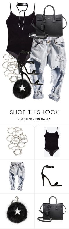 """Senses"" by bisboringx ❤ liked on Polyvore featuring Forever 21, Baldwin, STELLA McCARTNEY and Yves Saint Laurent"