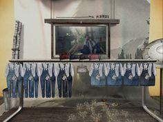 M BIRDIE - clutch/overalls, 99L each/220L each