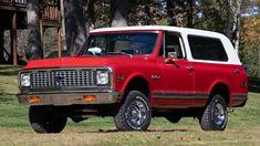 1972 Chevrolet K5 Blazer | T182 | Kissimmee 2020 C10 Chevy Truck, Lifted Ford Trucks, Chevrolet Trucks, Chevy Trucks, Pickup Trucks, Jeep Wrangler Tj, K5 Blazer, Camaro Ss, Land Rover Defender