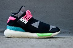 adidas Y-3 Qasa High - Black & Neon