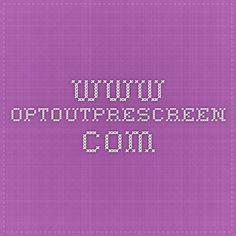 www.optoutprescreen.com