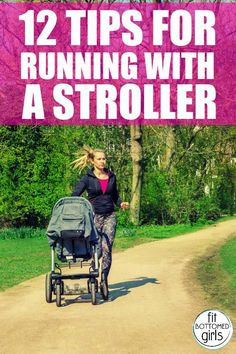 Many new moms have pregnancy pounds to lose and little time without baby. So working out or running with a stroller? Well, that& just the perfect solution. 100 Workout, Baby Workout, Pregnancy Workout, Running Workouts, Running Tips, Workout Tips, Running With Kids, Fit Pregnancy, Stroller Workout