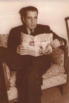 Bogart reading