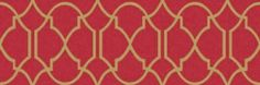 Banbury (97234) - Holden Decor Wallpapers - A pretty decorative all over trellis design on a fabric effect background in a range of colours. Shown here drawn in metallic gold on a soft red. Please request sample for true colour match. Paste the wall.