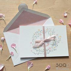 KWIATY VINTAGE | Oryginalne Zaproszenia Ślubne - www.soapbubble.pl Invitation Paper, Invitations, Our Wedding, Wedding Ideas, Container, Gift Wrapping, Gifts, Vintage, Gift Wrapping Paper