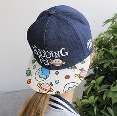 e9002e46a28 budding pop letters embroidered baseball cap funny kaomoji snapback cap