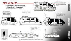 Traveller Air Rafts by *Arcas-Art on deviantART