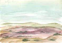 Landscape with watercolor 69