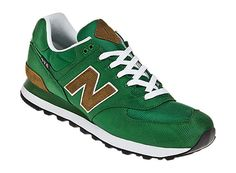 New Balance - Backpack 574 Green/Brown/White