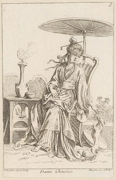Chinese lady I François Boucher