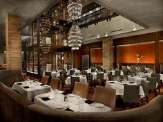 Del Frisco's Chicago, IL, Steakhouse & Seafood - amazing wine tower