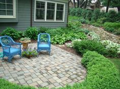 Paver Patio Yard Ideas On Pinterest Front Yard Patio