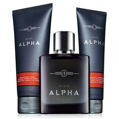 Avon Alpha 3-Piece Set for Him Don't miss out on this great deal!!! jradloff.avonrepresentative.com I'd love to be your Avon lady!!
