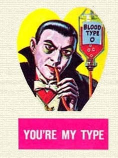 """""""Bah, I vant… to suck your blood, my love"""" 