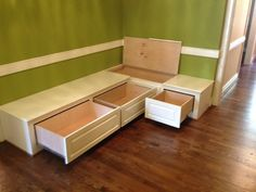 dining benches with storage