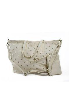 Τσάντα ώμου μεγάλη - Λευκό 39,99 € Handbags, Fashion, Moda, Totes, Fashion Styles, Purse, Hand Bags, Women's Handbags, Fashion Illustrations