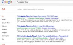 LinkedIn tips nr 4  http://jobbportalen.no/blogg/linkedin-tips-nr-4/