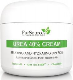 PurSources Urea Foot Cream 4 oz - Best Callus Remover - Moisturizes & Rehydrates Thick, Cracked, Rough, Dead & Dry Skin - For Feet, Elbows and Hands + Free Pumice Stone - Money Back Guarantee Best Foot Cream, Best Callus Remover, Pumice Stone, Cracked Skin, How To Exfoliate Skin, Dry Hands, Hand Cream, Dry Skin
