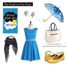 """*love* Outfit inspired by John Green's """"The Fault in Our Stars""""  """"You are so busy being YOU that you have no idea how utterly unprecedented you are."""""""