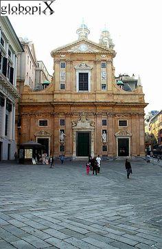 Genova - Chiesa dei Santissimi Ambrogio e Andrea