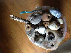 Pinner said:  We collect stones with holes in them, they are magic!