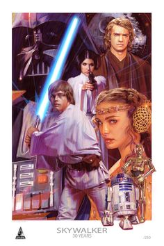 Star Wars - The Skywalkers by Tommy Lee Edwards