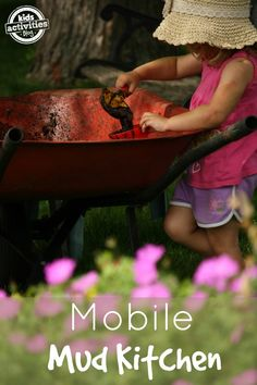 mobile mud kitchen <--I think my kids could do this all summer long