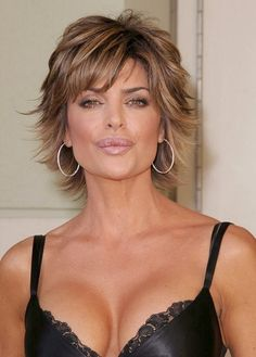 Lisa Rinna - Mature Hairstyle,  Go To www.likegossip.com to get more Gossip News!