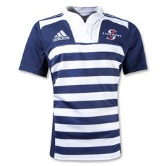 Stormers 2012 Home SS Rugby Jersey Rugby, Mens Fashion, Men's Style, Sports, Legends, Mens Tops, Ss, T Shirt, Products