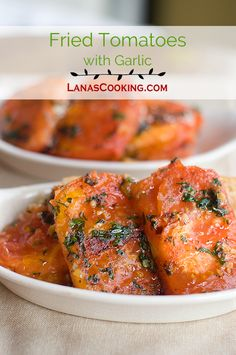 Fried Tomatoes with