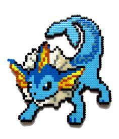 Made with hama perler beads Feel free to look at my Etsy shop: www.etsy.com/shop/AenysBeadArt Other version: Other Pokemon I made: