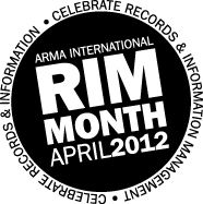 April is Records and Information Management Month