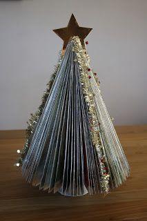 Kerstboom van allerhande vouwen