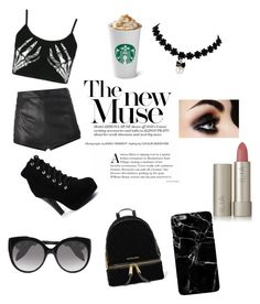"""""""you can make your love"""" by indrianissolihah ❤ liked on Polyvore featuring MICHAEL Michael Kors, Alexander McQueen, Boohoo, La Perla and Ilia"""