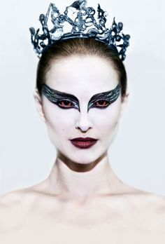 Image detail for -Black Swan the movie makeup by M·A·C Cosmetics, different colors for bird girls