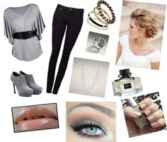 """""""Grey"""" by aimy21 on Polyvore"""