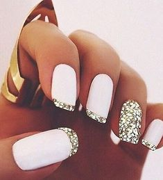 French Tips Wedding Nails