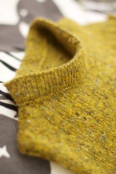 Rowan Felted tweed mustard tweed