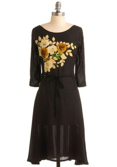 Idea: embroider the fabric then make into dress, top or skirt!