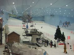 A Ski Centre in Dubai United Arab Emirates
