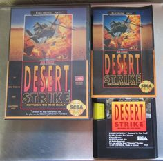 Desert Strike Return to the Gulf Sega Genesis
