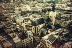 Lviv, Ukraine, where my family's from...would love to see it one day.