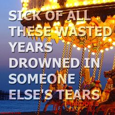 Album: Overexposed  Song: Wasted Years