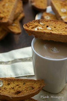 whole wheat pumpkin biscotti recipe