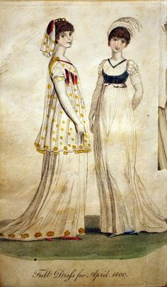 1800 April Dresses   http://historicalsewing.com
