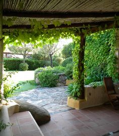 House Rosa, patio and garden