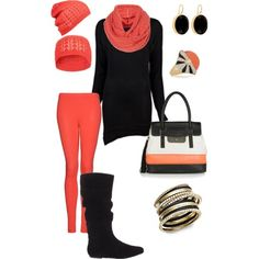 A fashion look from February 2012 featuring K City dresses, MANGO leggings and Steve Madden boots. Browse and shop related looks. Fall Outfits, Cute Outfits, Fashion Outfits, Fashion Trends, Black Boots Outfit, Saturday Outfit, Classy Casual, Tees For Women, Get Dressed