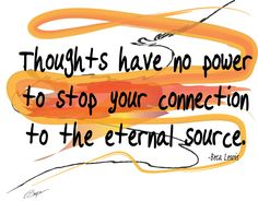 Thoughts Have No Power to Stop Your Connection, spiritual art, Inspirational wall art, affirmation wall art, zen, home decor, gift, prints by BecaLewis on Etsy