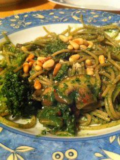 Uit mijn keukentje: Groene spaghetti
